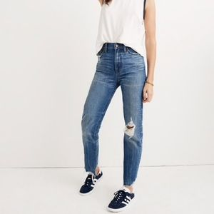 Madewell Perfect Summer Jean Deconstructed 23P